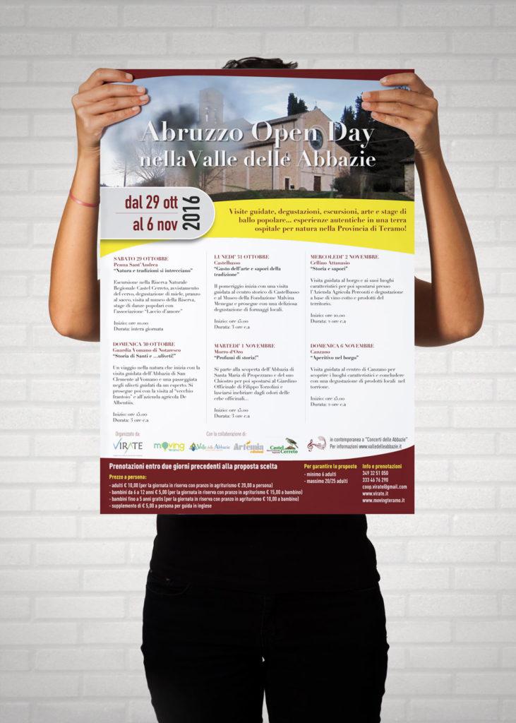 Locandina abruzzo open day